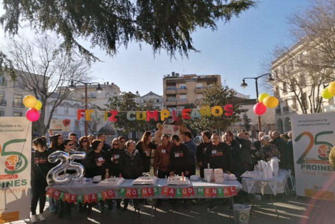Celebración 25 Aniversario Plaza España